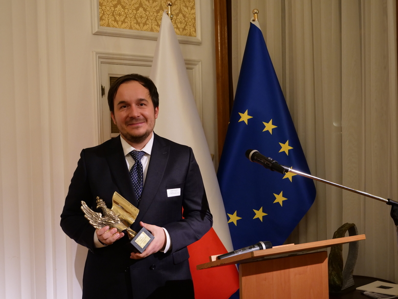 Wojciech pawlus eagle of polish economy awards
